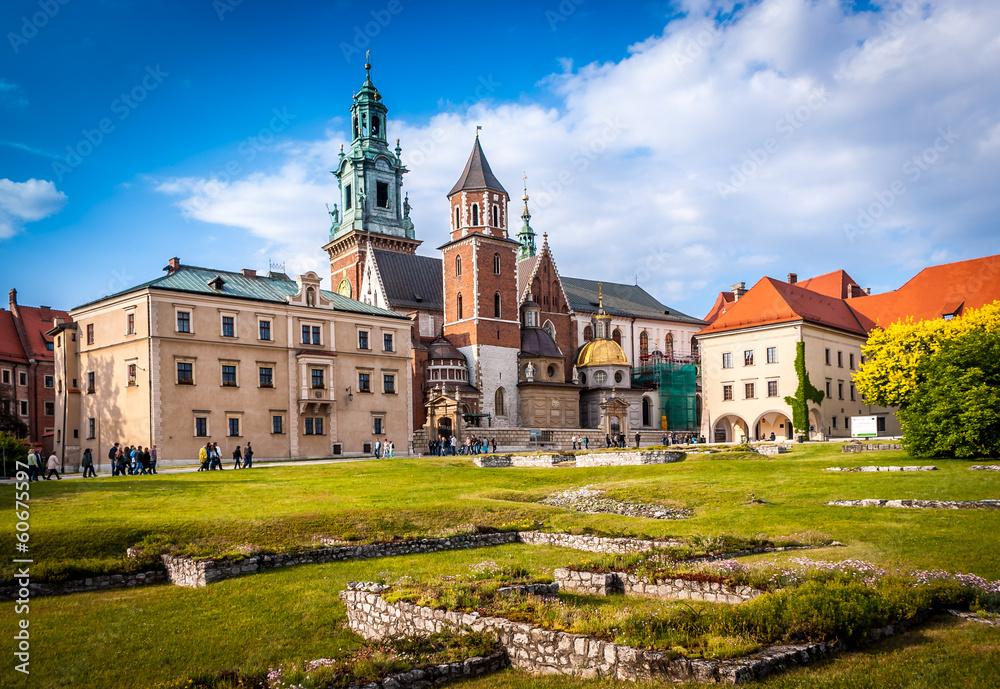 Fototapety, obrazy: Wawel Kraków