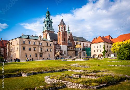obraz PCV Wawel Kraków