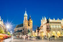 Rynek Glowny - The Main Square...
