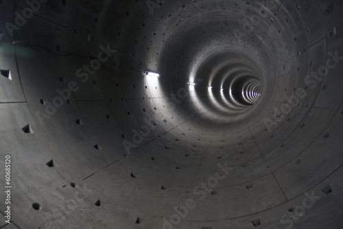 Subway tunnel under construction #60685120