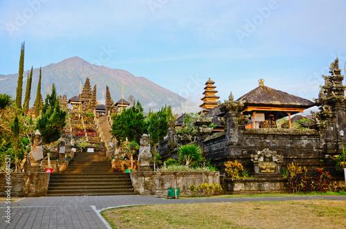Foto op Plexiglas Indonesië Pura Besakih. - largest hindu temple of Bali, Indonesia