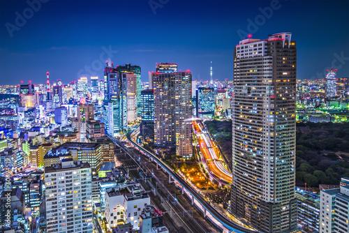 Poster Tokyo Tokyo, Japan at the Minato Ward District