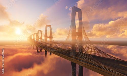 Bridge in the Clouds