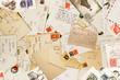 Leinwandbild Motiv corrispondenza vintage