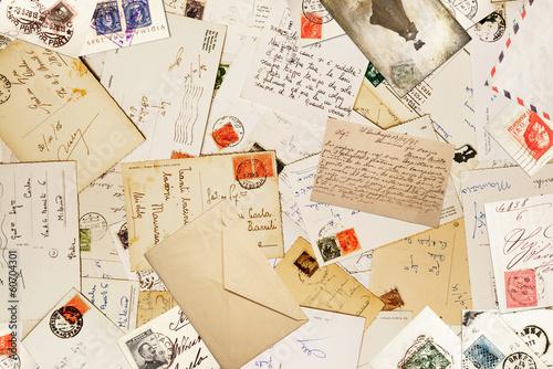 Obrazy z napisami listy-w-stylu-vintage