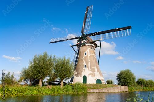 Poster Artistique Dutch windmill