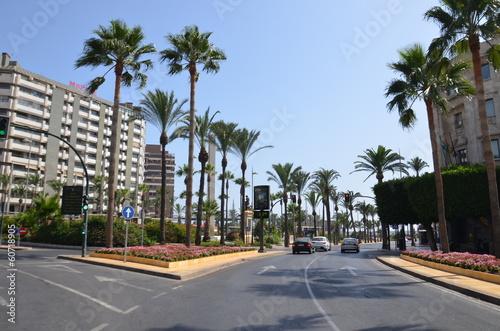 Centre -ville d'Almeria, Espagne