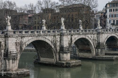 Fotografie, Obraz  ponti e lucchetti di Roma