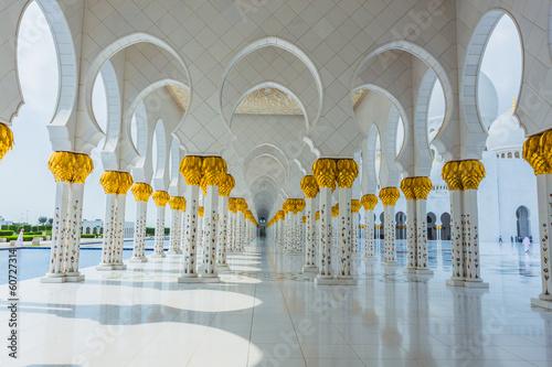 Spoed Foto op Canvas Abu Dhabi The Shaikh Zayed Mosque
