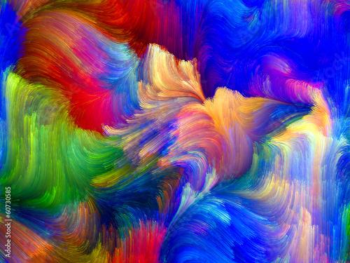 Fototapeta Inner Life of Color obraz na płótnie