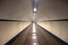 Pedestrian Tunnel In Antwerp, ...