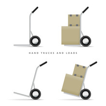 Hand Truck And Loads