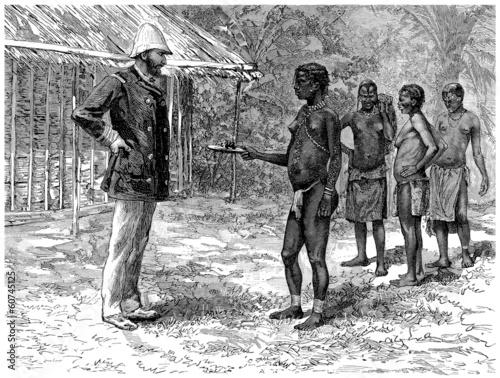 Pinturas sobre lienzo  White Master : Slavery - Esclavage - Sklaverei