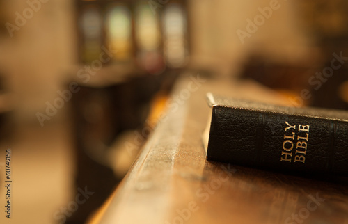 Fotografie, Obraz  Holy Bible