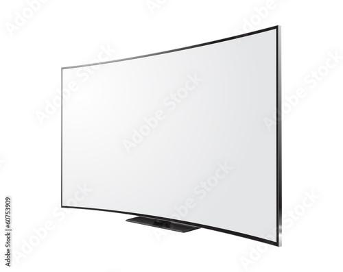 Télévision incurvée Tapéta, Fotótapéta