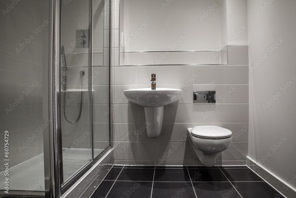 Stilvolles Sauberes Badezimmer Foto Poster Wandbilder Bei Europosters