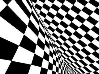 NaklejkaAbstract illusion