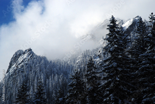 Winter in the Tatra Mountains