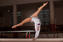 Portrait Of Young Gymnasts Tra...