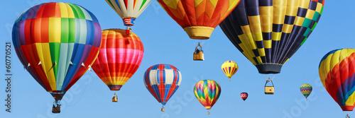 Fényképezés  Colorful hot air balloons