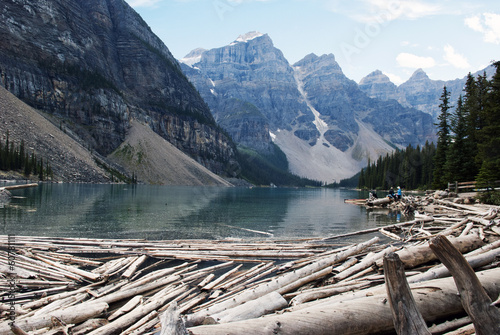 Spoed Foto op Canvas Canada Moraine Lake Banff National Park