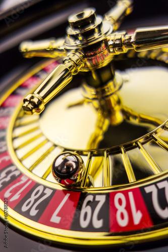 фотография  roulette gambling in the casino
