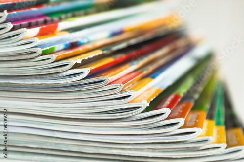 Photographie  Aufgefächerte Fachzeitschriften