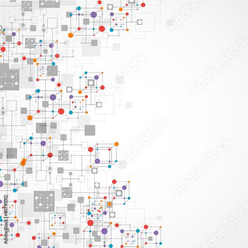 siec-koloru-technologii-komunikaci-tlo
