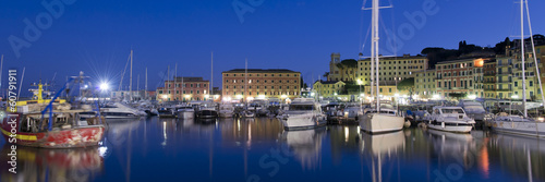 Photographie  The harbour of Santa Margherita