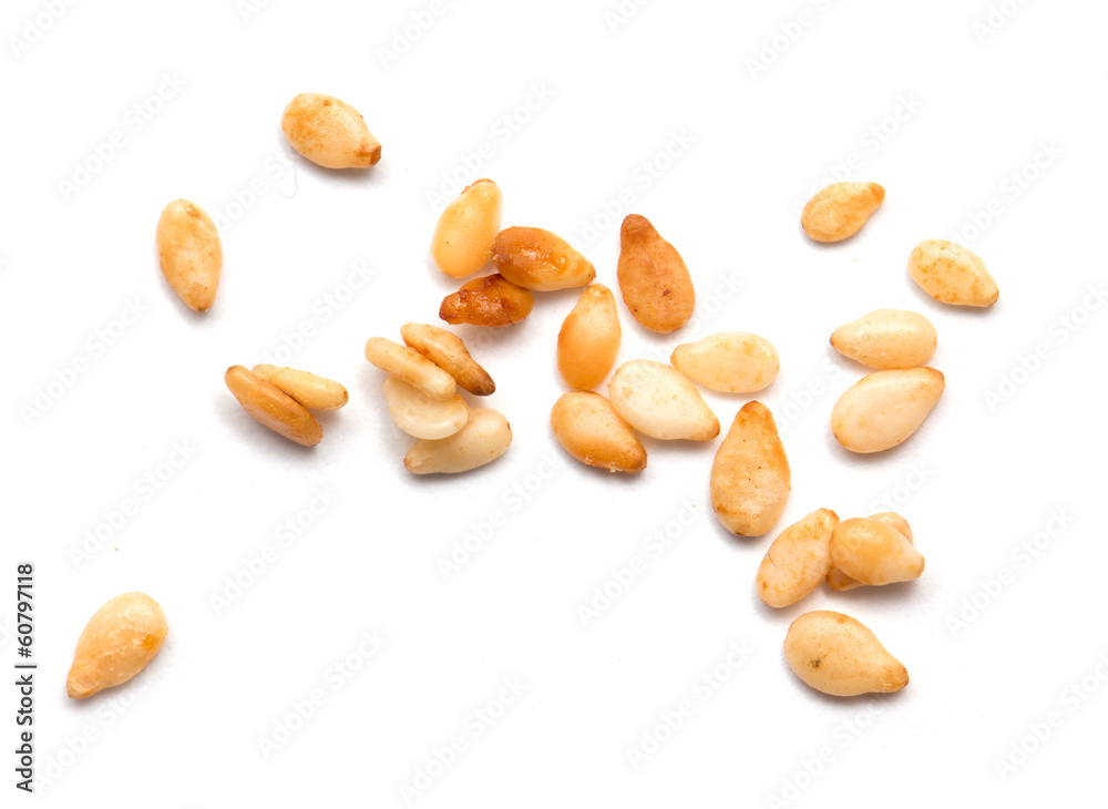 Fototapety, obrazy: sesame seeds on a white background. macro