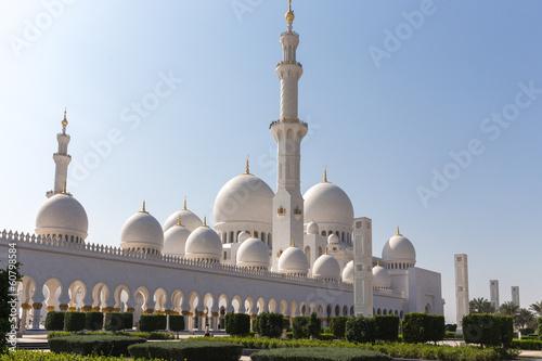 Photo  Sheikh Zayed Mosque in Abu Dhabi