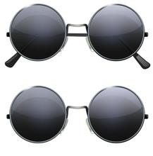 Round Black Glasses