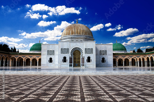 Canvas Prints Tunisia Bourguiba's Mausoleum