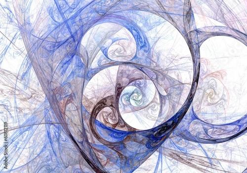 abstrakcjonistyczny-fractal-na-bialym-tle