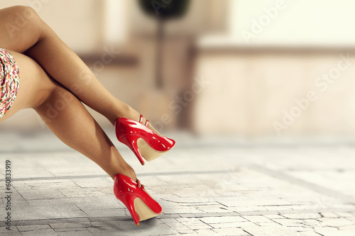 Fotografia  red shoes