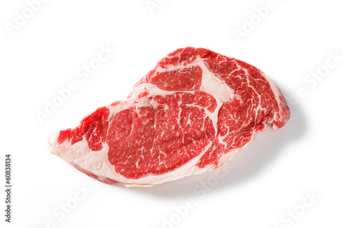 Door stickers Steakhouse Beef rib eye steak
