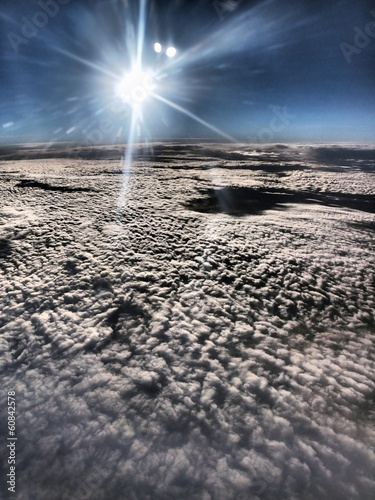 Fototapeta w chmurach obraz