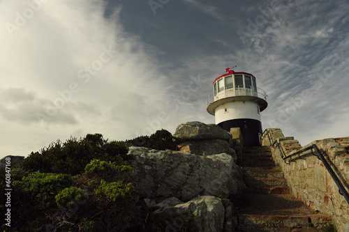 Fotografering  Lighthouse Cape of Good hope