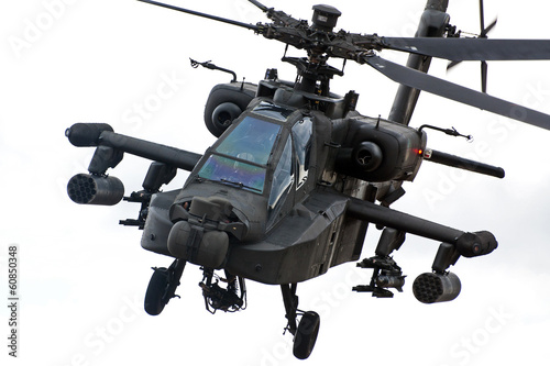 Apache helicopter Canvas Print