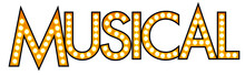 Musical Marquee Bulb Sign