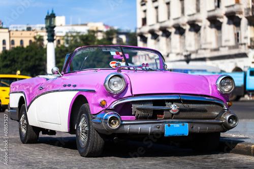 Karibik Kuba Oldtimer in Havanna