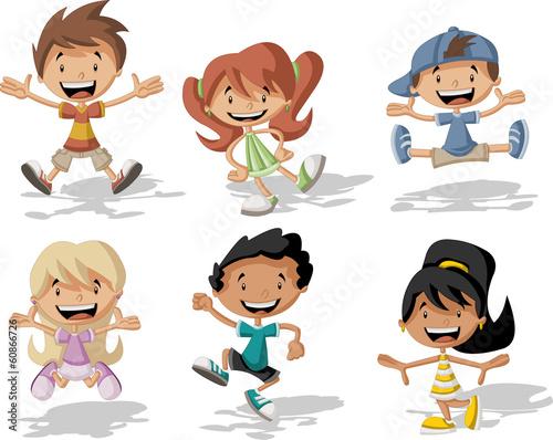 grupa-szczesliwych-dzieci-skaczacych-do-gory-na-bialym-tle
