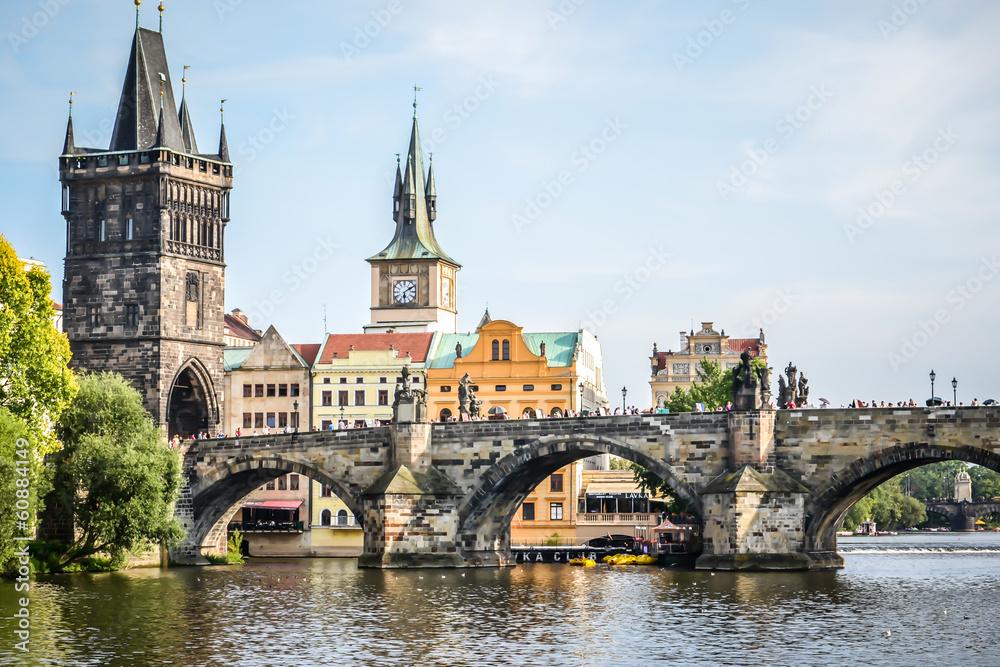 Fototapety, obrazy: Most Karola , Praga