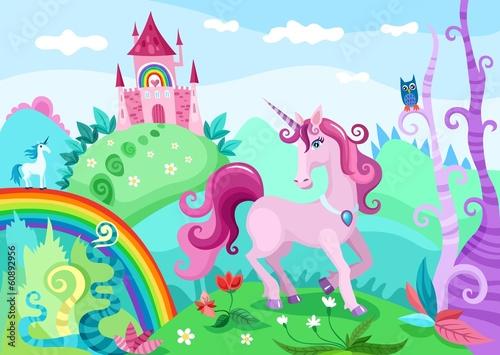 Fotografie, Obraz  unicorn