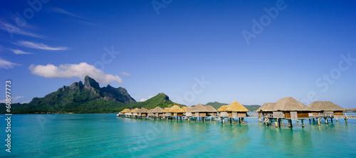 Obraz na plátně Bora Bora panoramic