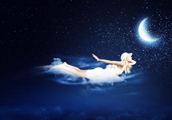 Obraz na płótnie Canvas Night dreaming