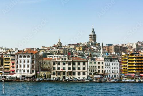 Kind of Istambul from Bosphorus Poster