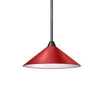 Retro Red Hanging Lamp