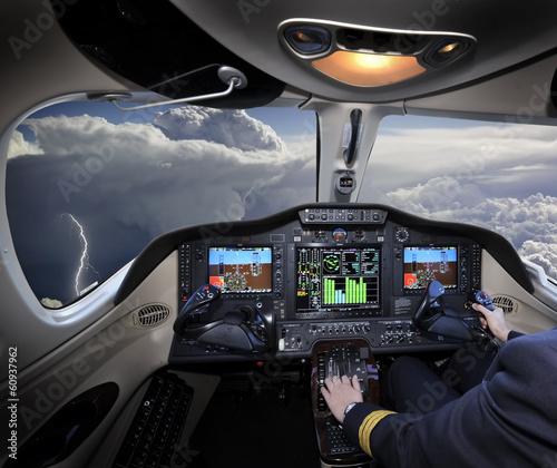 Fotografie, Obraz Flying away from the storm