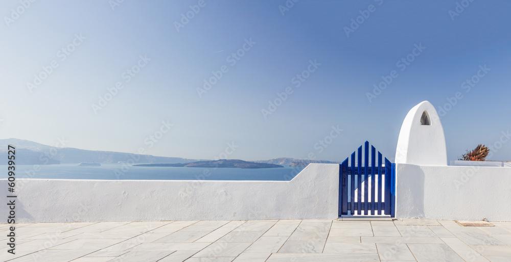Fototapety, obrazy: View on Oia in Santorini